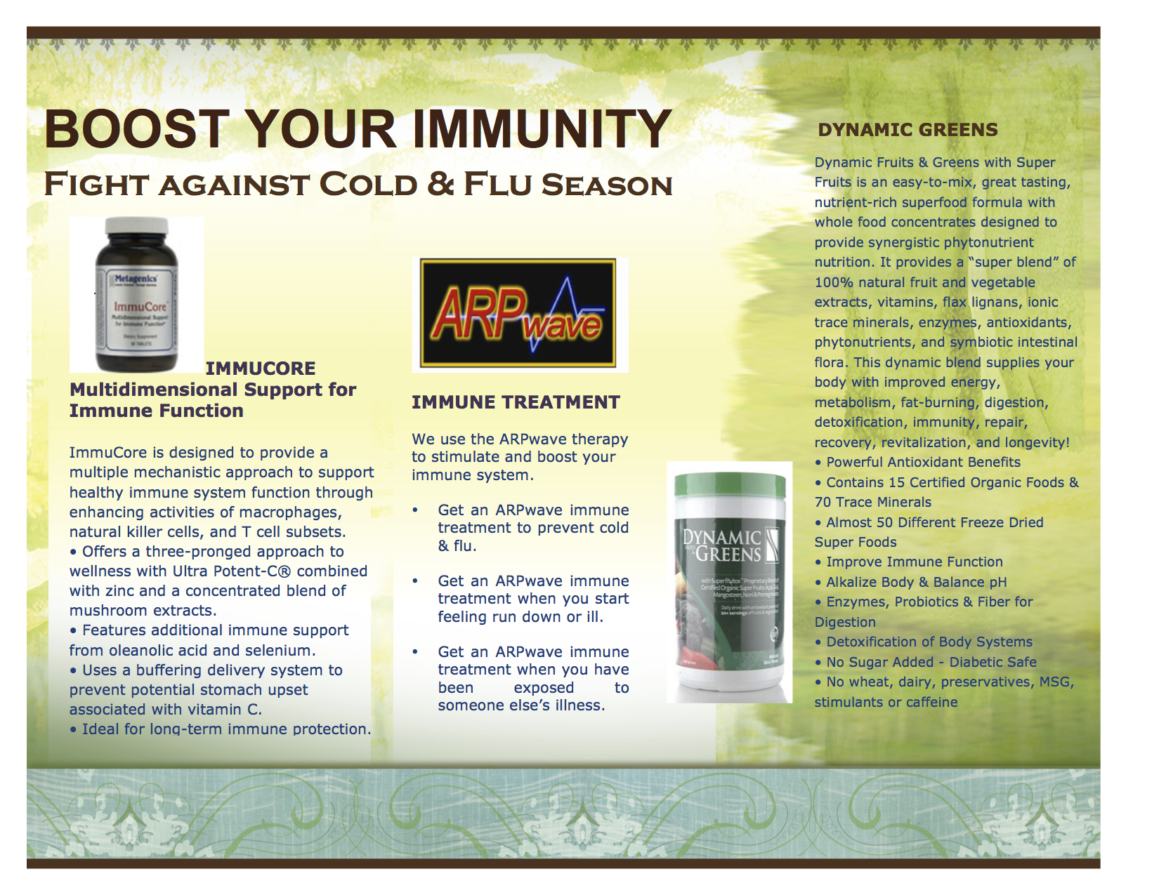 Fight Cold and Flu Season